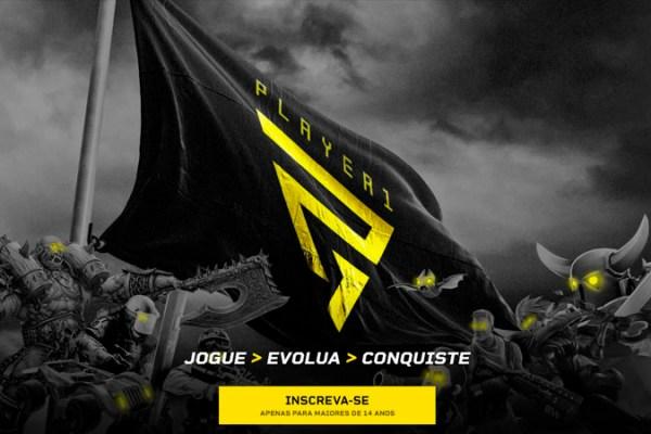 Conheça a Player 1, a mais nova plataforma de campeonatos amadores de eSport do Brasil