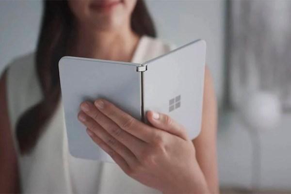 Novo Surface Duo da Microsoft terá ampla autonomia de bateria