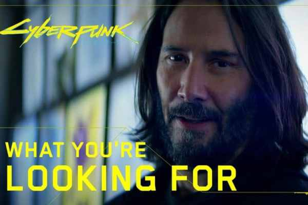 Cyberpunk 2077 | Keanu Reeves estrela novo comercial do game para TV