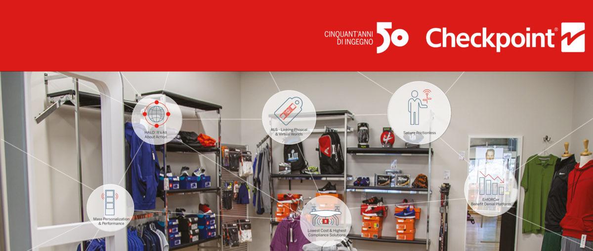 """Checkpoint: 50 anni di """"Ingegno"""" con le soluzioni intelligenti per il Retail a EuroCIS 2019"""