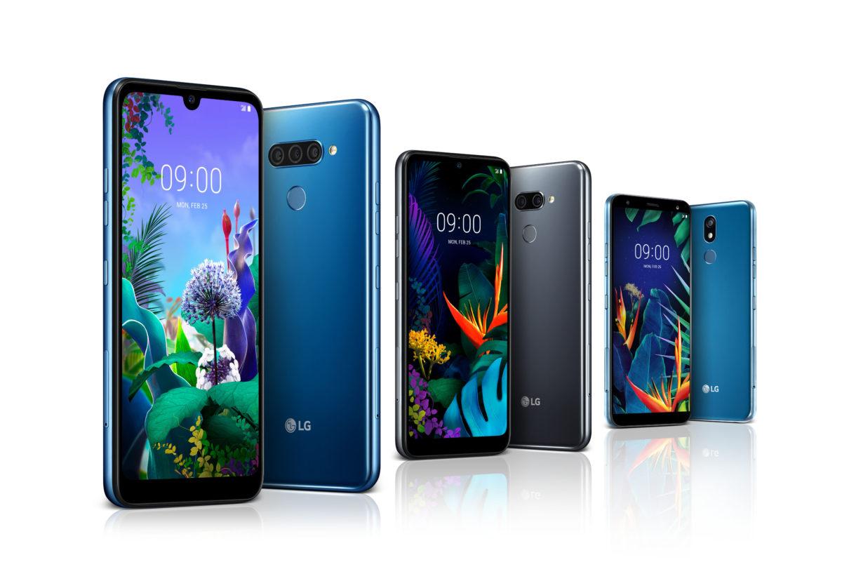 LG Electronics: tre nuovi smartphone accessibili al MWC 2019