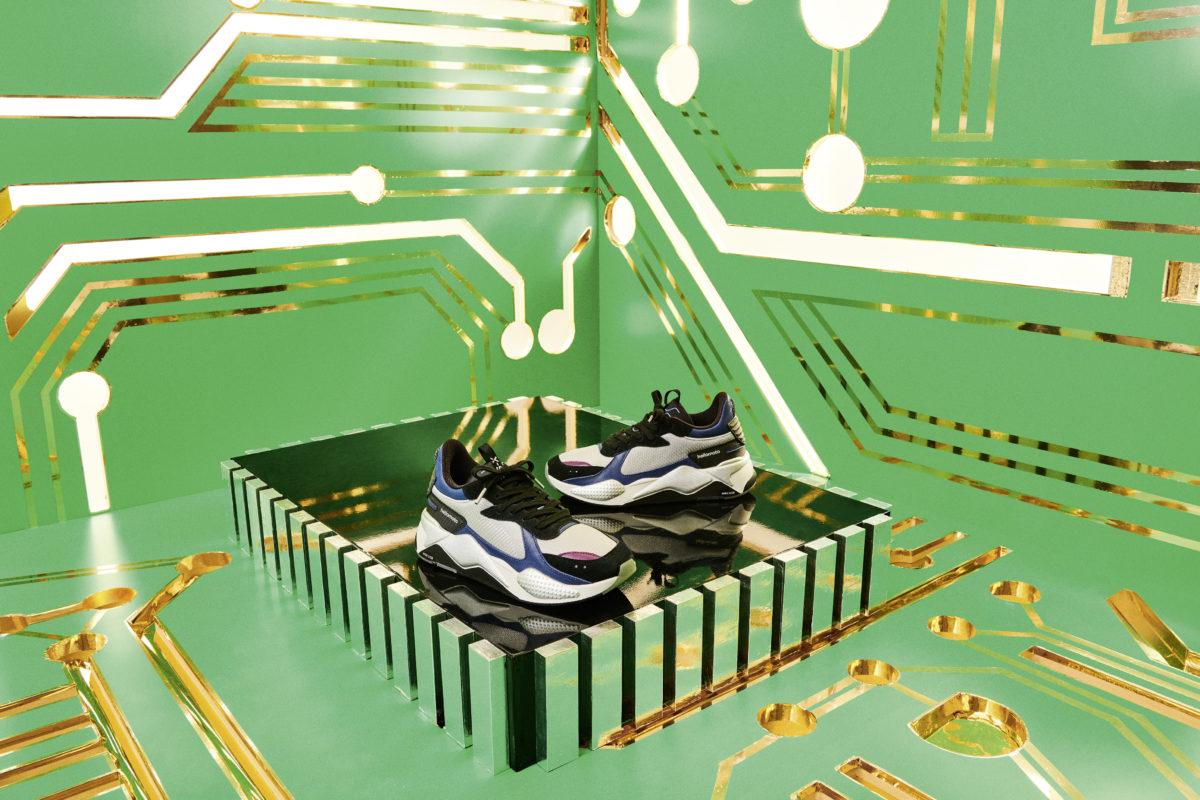 Motorola e PUMA in partnership per una sneaker ispirata allo stile degli anni '80