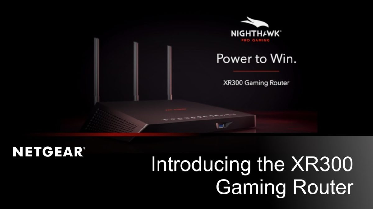 Netgear Nighthawk Pro Gaming XR300, il router a bassa latenza