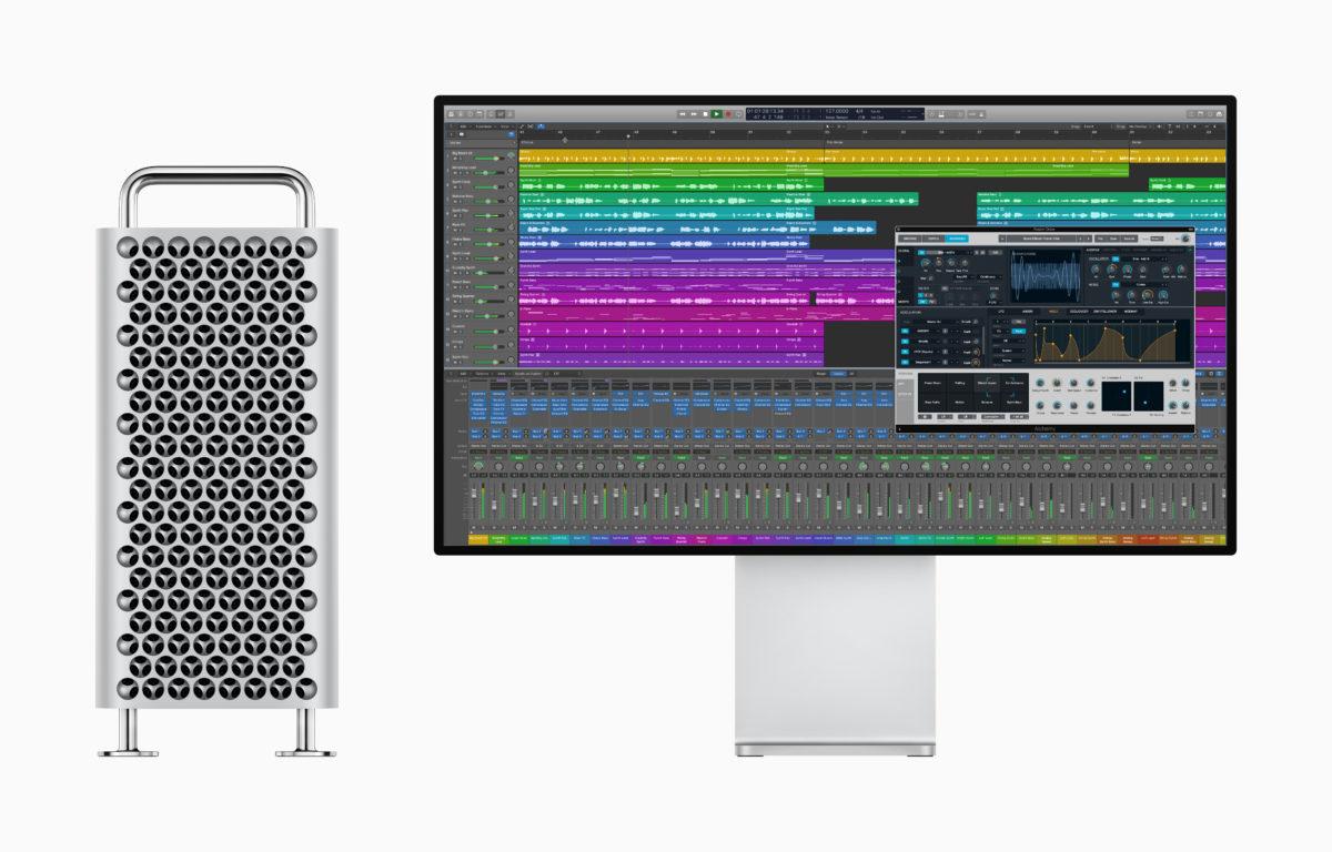L'aggiornamento di Logic Pro X sfrutta l'incredibile potenza del nuovo Mac Pro