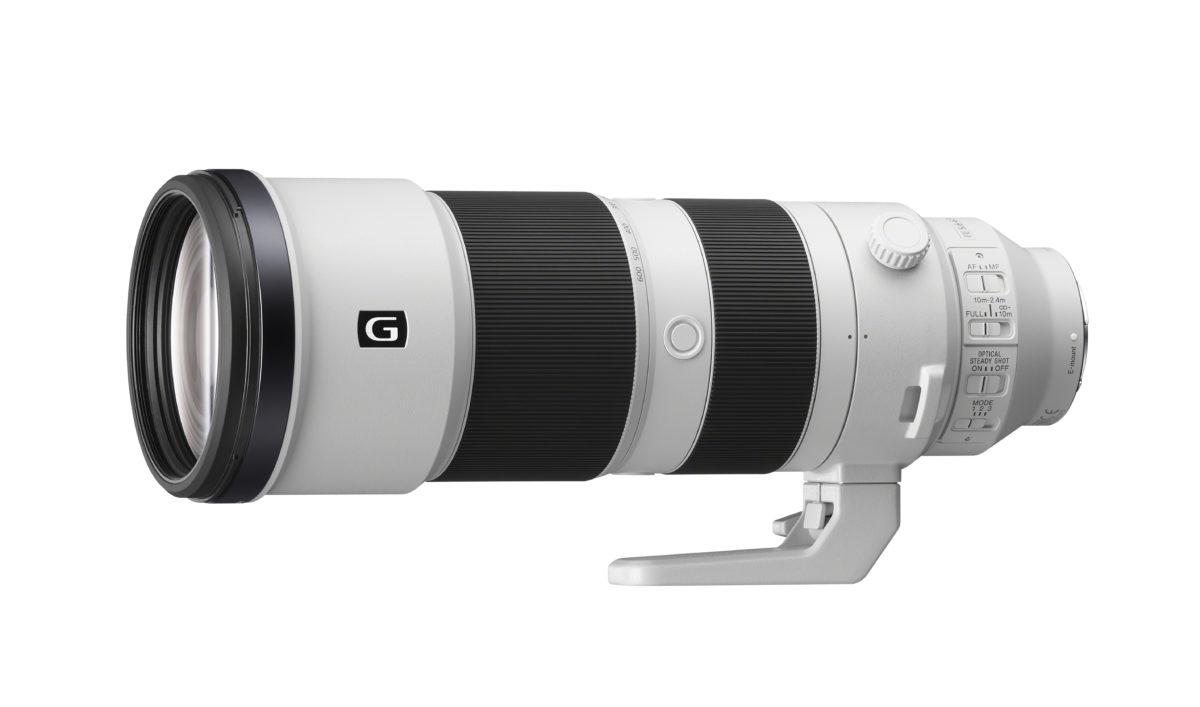 Sony presenta il nuovo super teleobiettivo zoom  FE 200-600 mm F5.6-6.3 G OSS