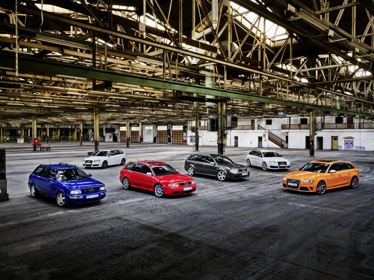 Audi Sport: 25 anni di prestazioni al top e piacere di guida
