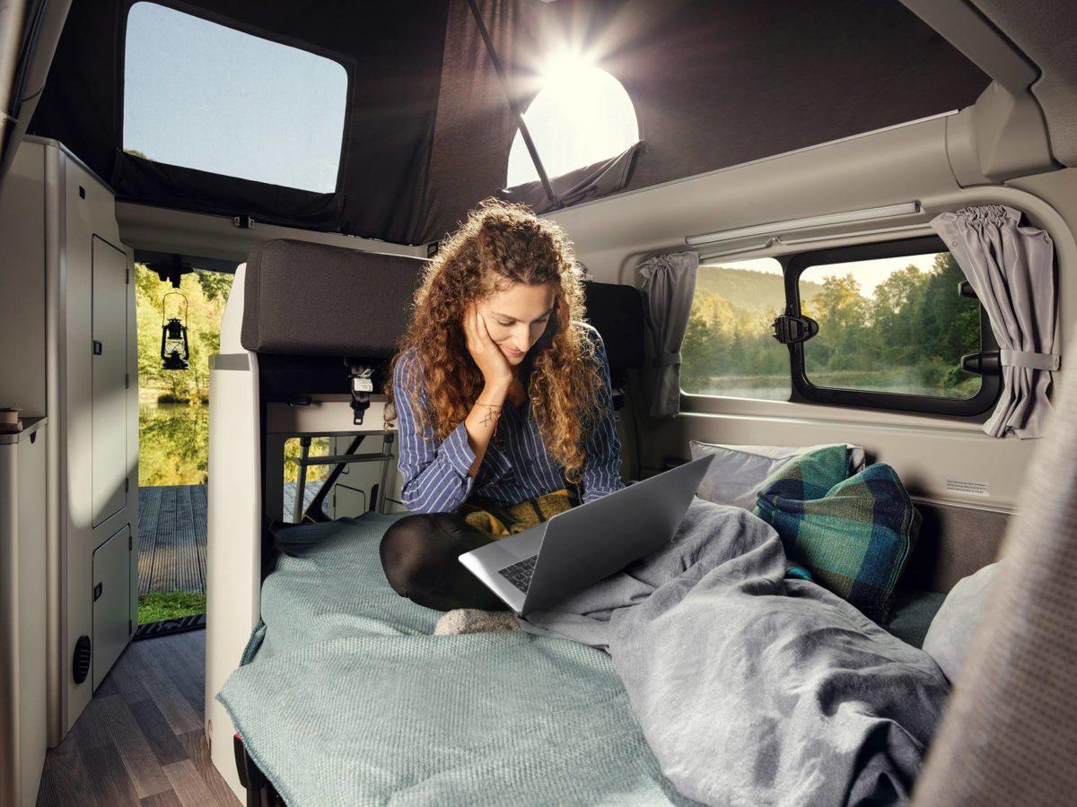 Hotspot wifi sul nuovo Ford Transit Nugget