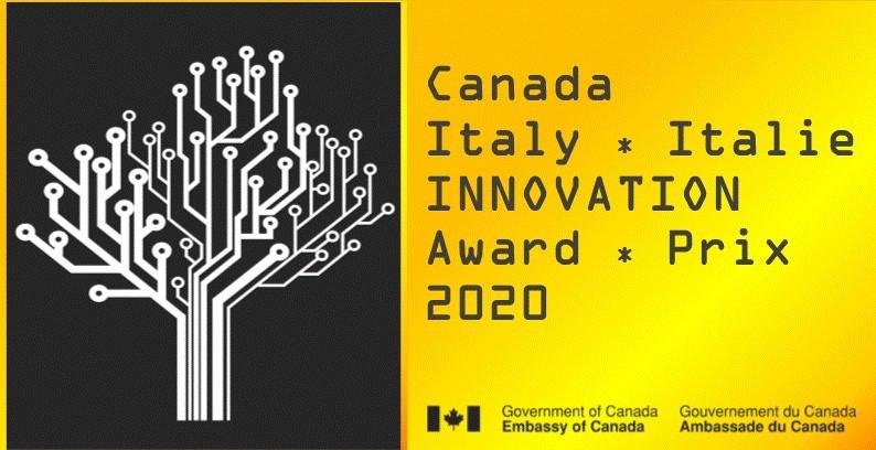 Lancio del PREMIO CANADA-Italia per l'INNOVAZIONE 2020