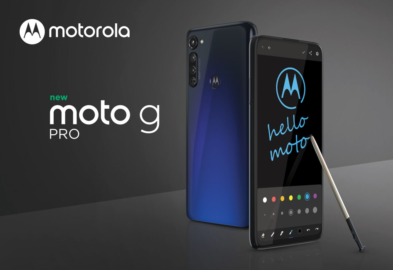 Il nuovo moto g pro è il primo smartphone di Motorola dotato di pennino Stylus