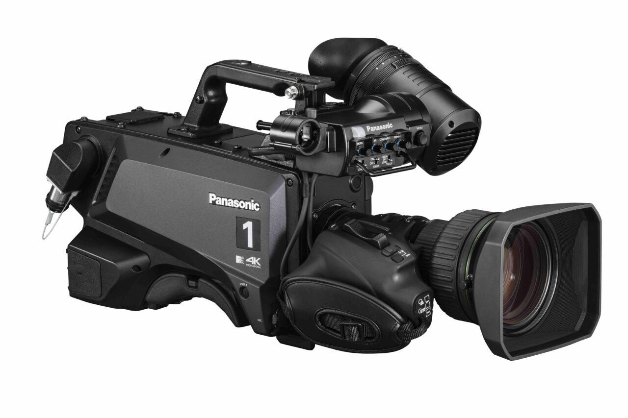 Panasonic: la nuova telecamera da studio AK-UC3300 UHD con risoluzione da 2.000 linee televisive