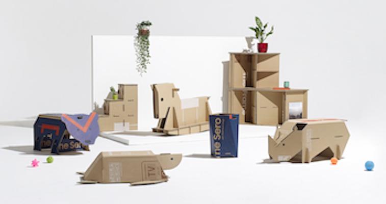 Samsung continua a scommettere sull'upcycling con imballaggi in cartone riciclabile ecologico che stimolano la creatività