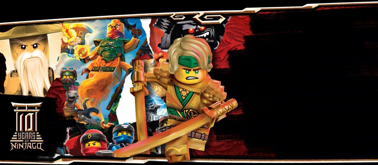 LEGO festeggia i 10 anni di NINJAGO con fantastici set e collaborazioni
