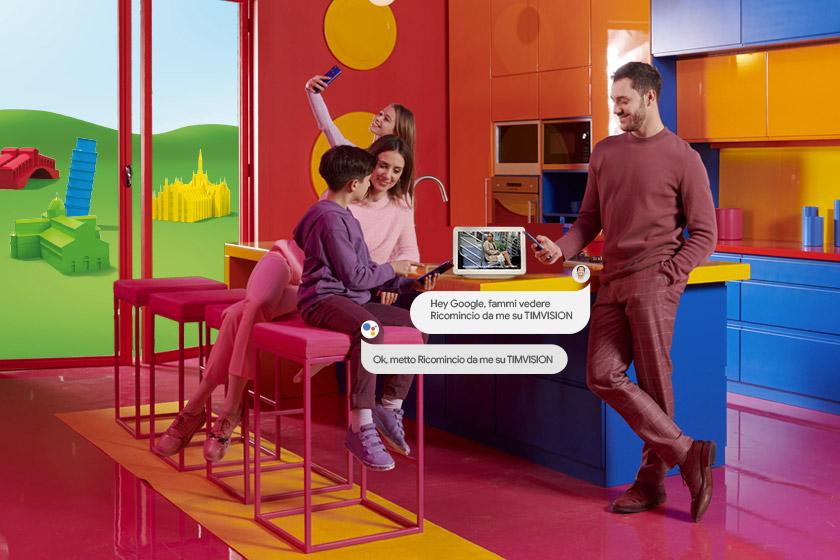 Come vedere i contenuti di TIMVISION anche su Google Nest Hub