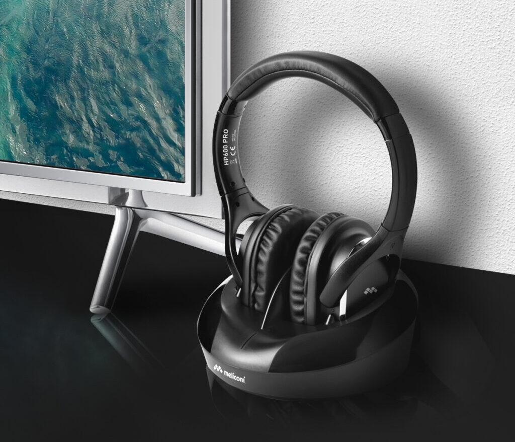 Meliconi HP 600 PRO, le cuffie senza fili per l'home entertainment
