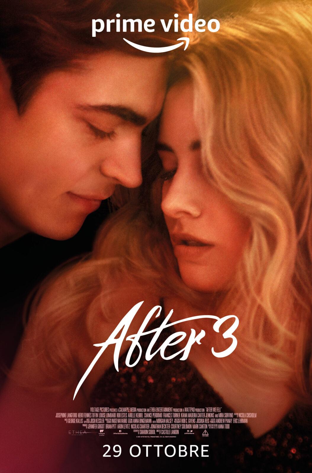 After 3, da venerdì 29 ottobre in Italia su Prime Video