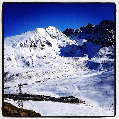 Sol y nieve: todo un reto para un hacer un buen balance de blancos (foto de El Ghola de Duncan Idaho)