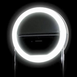anillo de luz led