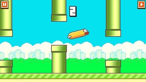 Flappy Bird PSP 2-4