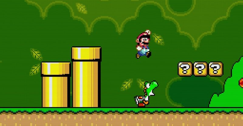 SNES Mario