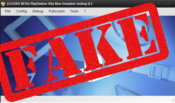emulador ps vita fake