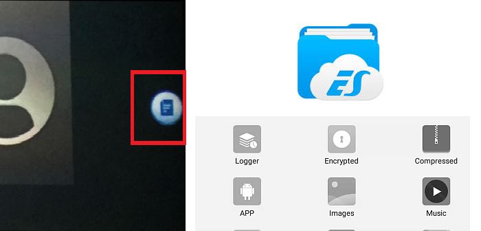 es file explorer remover marca