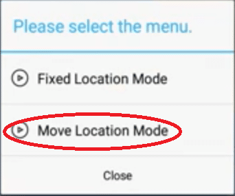 move location mode
