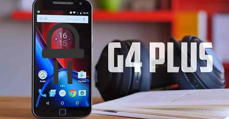 Moto G4 Plus LED