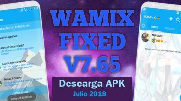 descargar whatsapp mix apk wamix 7.65