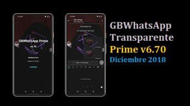 descargar gbwhatsapp transparente prime 6.70