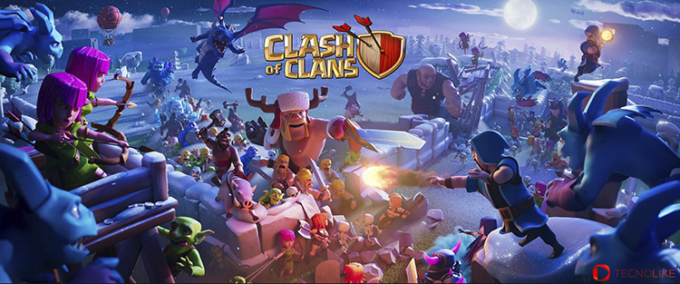 Clash Of Clan.