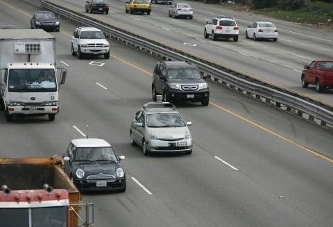 No trânsito: mensagens alertam motorista