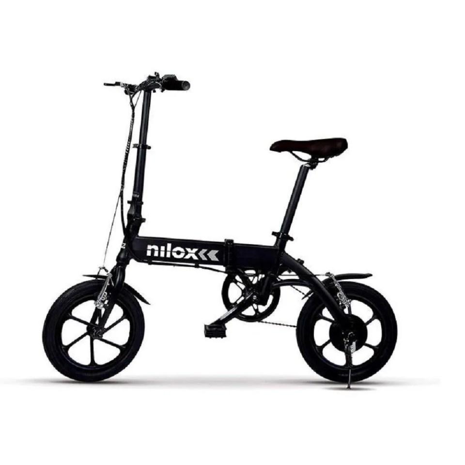 Bicicleta eléctrica plegable nilox X2