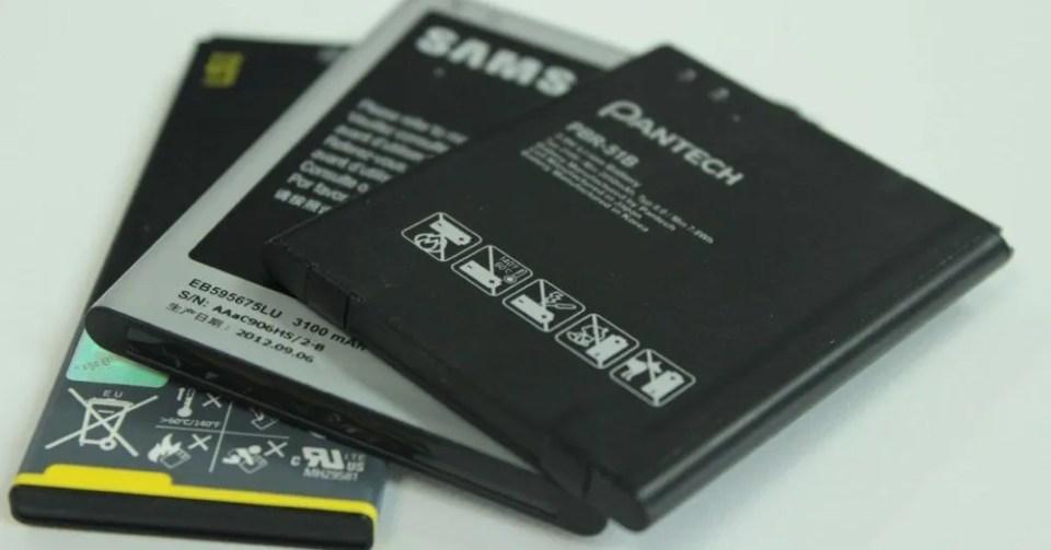 Batería extraíble de móvil