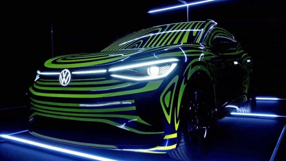 Vehículo eléctrico de marca alemana
