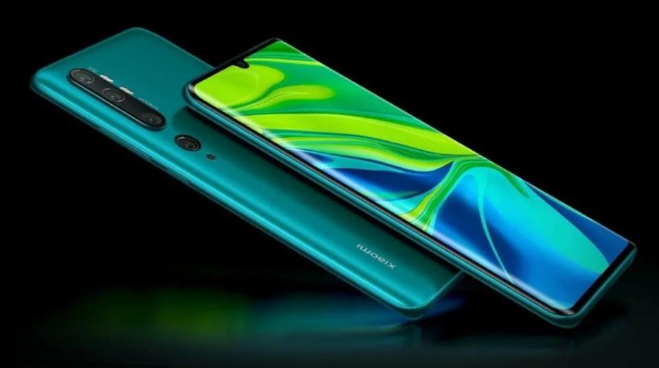 Xiaomi Mi Note 10 y 10 Pro lanzamiento