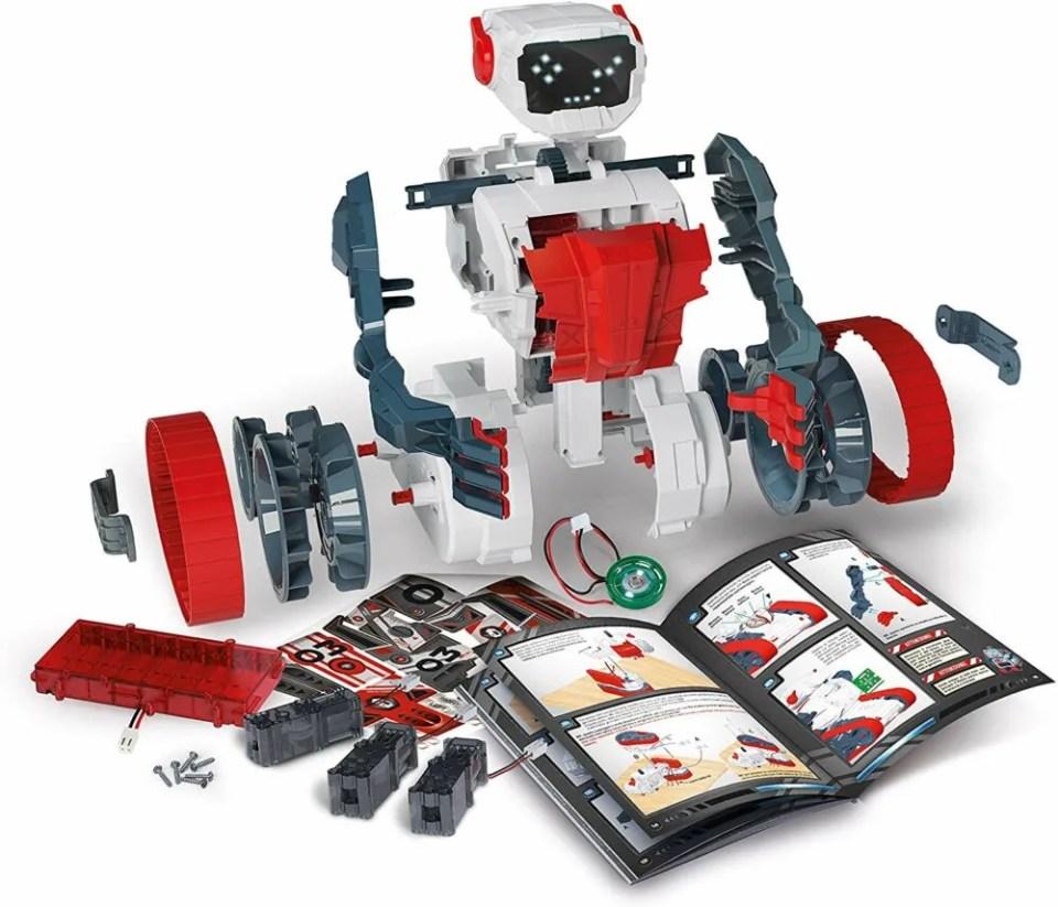 Evolution robots, un kit para preadolescentes