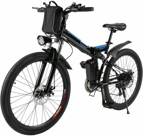 Mejores bicis electricas plegables económicas