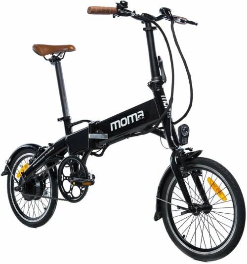 Moma e-16teen una de laas mejores bicicletas eléctricas plegables baratas 2019