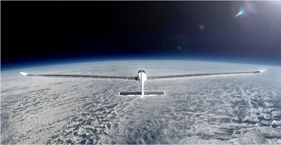 O SolarStratos voará a uma altitude três vezes maior que o Monte Everest. [Imagem: SolarStratos/Divulgação]