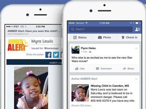Alertas Amber-facebook-tecnologia