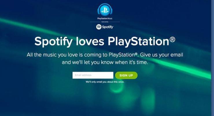 PlayStation Music : Spotify llega a PlayStation