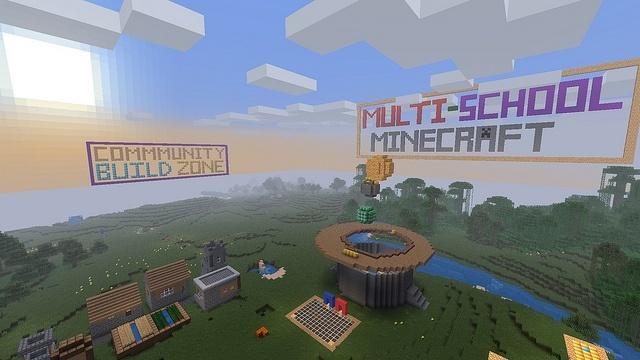 """Servidor de Minecraft """"Multi-School"""""""