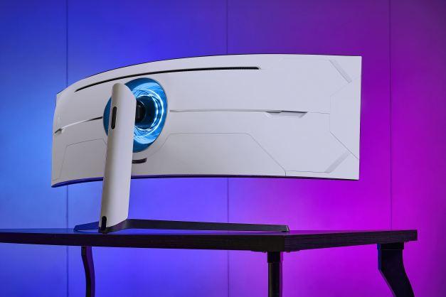 monitor curvo-tv