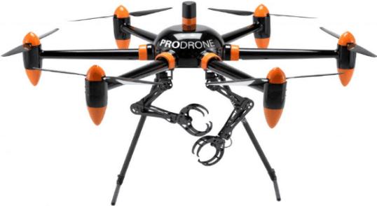 Prodrone el primer drone con brazo