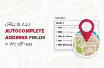 utocompletar para los Campos de Dirección en WordPress