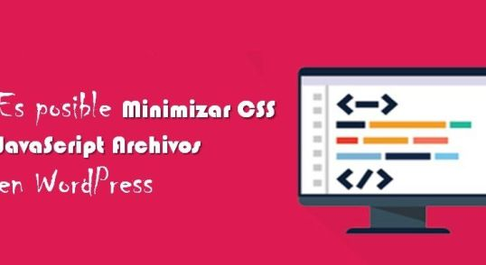 Disminuir CSS y JavaScript