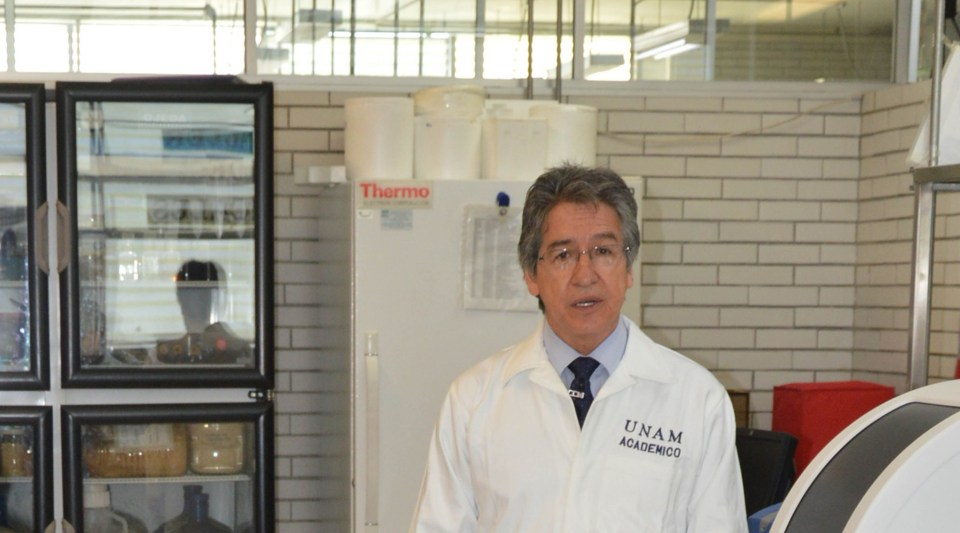 Francisco Montiel Sosa, académico de la Facultad de Estudios Superiores Cuautitlán de la UNAM. Foto cortesía Francisco Montiel