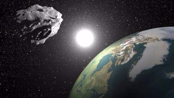El miniasteroide 2016 HO3 tiene entre 40 y 100 metros de diámetro y lleva 100 años acompañando al planeta. | Fuente: Télam