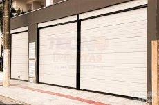portas-seccionadas-residenciais portão para garagem