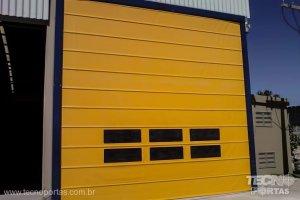 portas-rapidas-industriais-tecnoportas porta flexível de polipropeno